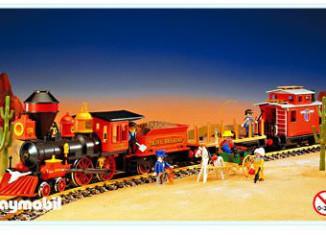 Playmobil - 4034v1 - Large Western Train Set