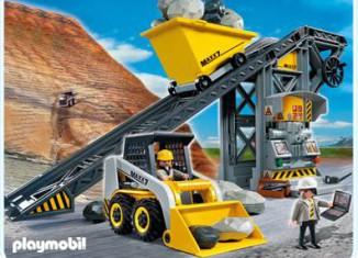Playmobil - 4041v1 - Conveyor Belt with Mini Excavator