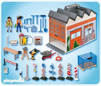 Playmobil 4043 - Take Along Construction - Back