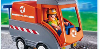 Playmobil - 4045 - Kehrmaschine