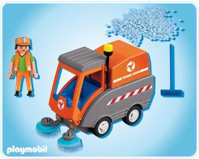 Playmobil 4045 - Kehrmaschine - Back