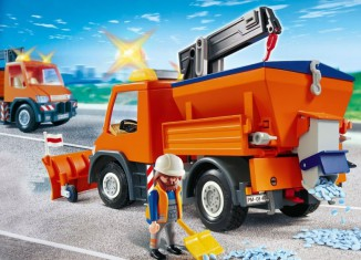 Playmobil - 4046 - Straßenmeisterei-Fahrzeug