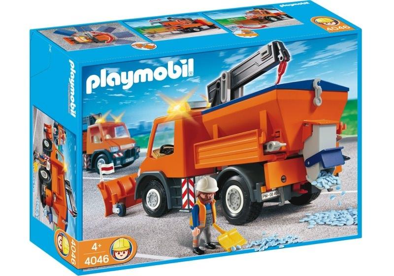 Playmobil 4046 - Straßenmeisterei-Fahrzeug - Box