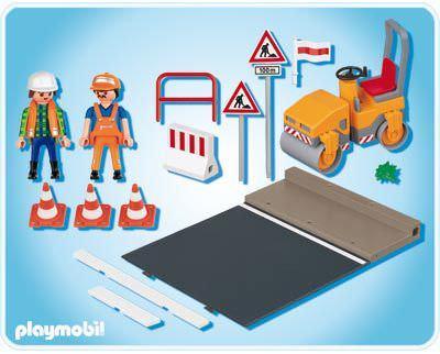 Playmobil 4048 - Steamroller - Back