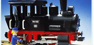 Playmobil - 4051 - Small Locomotive
