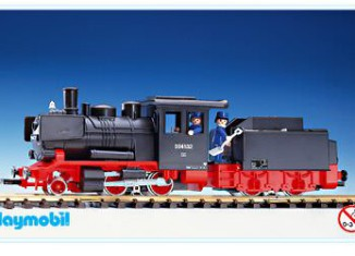 Playmobil - 4052v1 - Large Locomotive