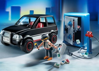 Playmobil - 4059 - Robber with Getaway Car