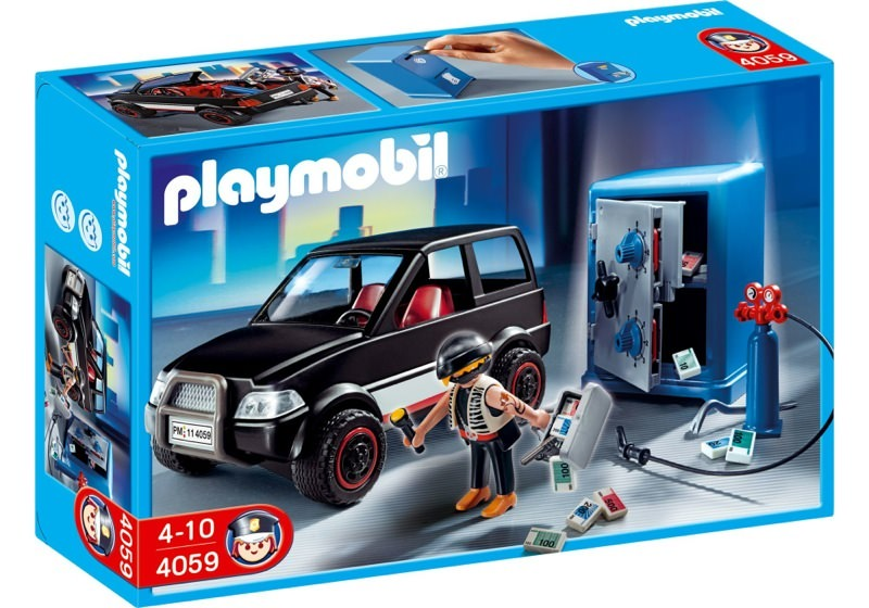 Playmobil 4059 - Robber with Getaway Car - Box