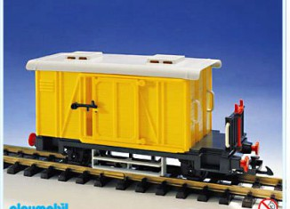 Playmobil - 4102 - Cargo Wagon
