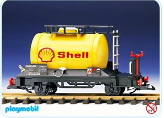 Playmobil - 4107 - Shell Tanker Car