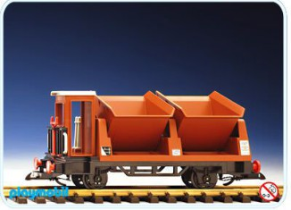 Playmobil - 4112 - Tipper Car