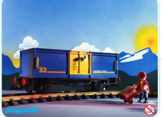 Playmobil - 4114 - Open Freight Car