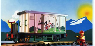 Playmobil - 4115 - Freight Car