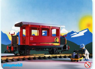 Playmobil - 4117 - Passenger Car