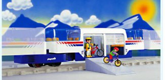 Playmobil - 4119 - Express Train Car