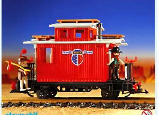 Playmobil - 4123 - Ranger Caboose