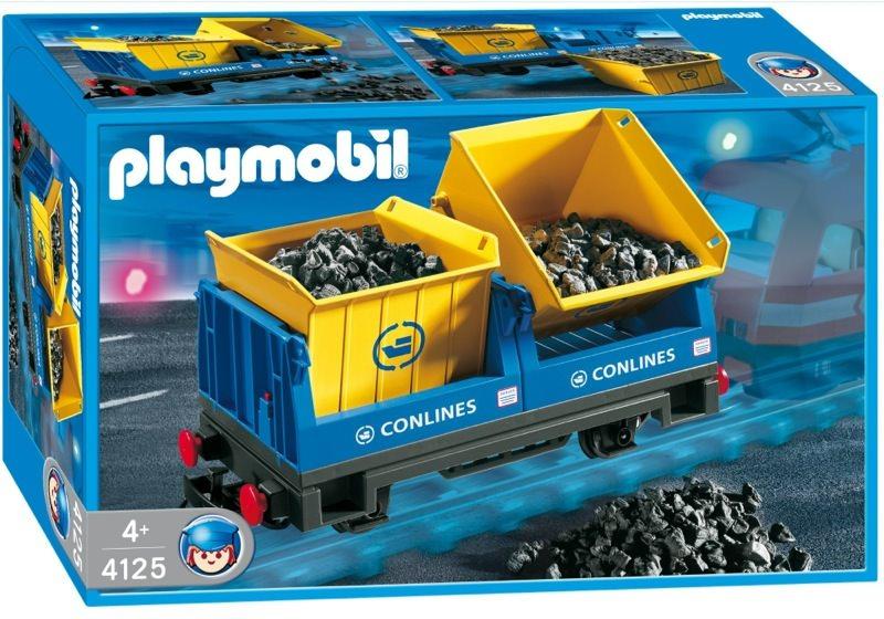 Playmobil 4125 - Tipping Wagon - Box