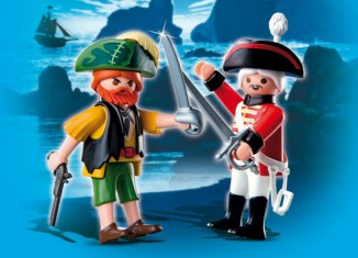 Playmobil - 4127 - Duo Pack Pirate and redcoat