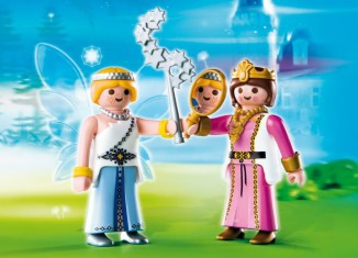 Playmobil - 4128 - Duo Pack Prinzessin und Zauber-Fee