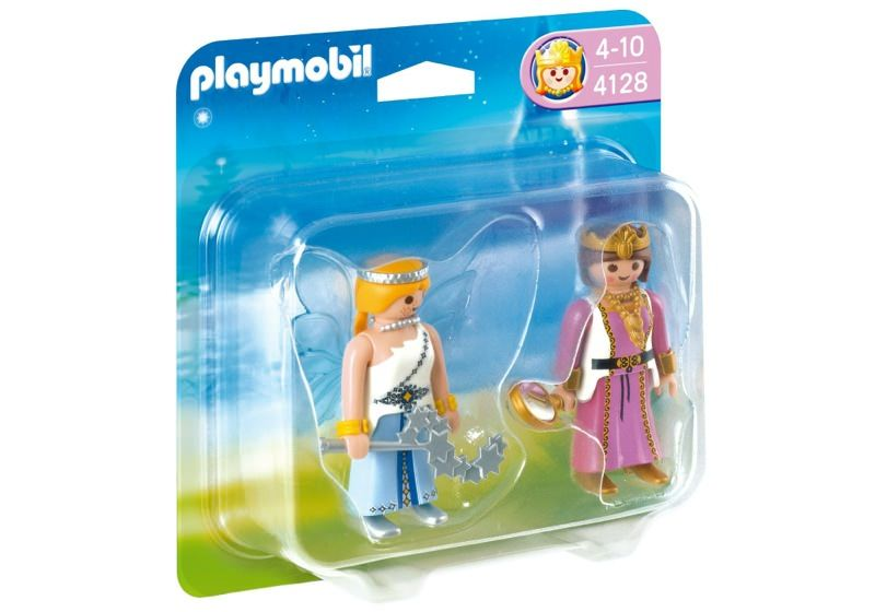 Playmobil 4128 - Duo Pack Prinzessin und Zauber-Fee - Box