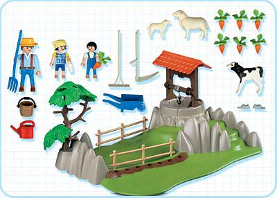 Playmobil 4131 - SuperSet Landleben - Back