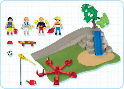 Playmobil 4132 - SuperSet Playground - Back