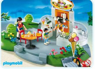 Playmobil - 4134 - Super Set Ice Cream Parlor