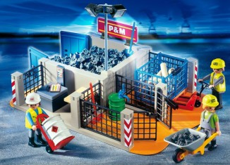 Playmobil - 4135 - Super Set Construction Site