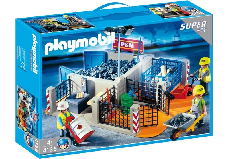 Playmobil 4135 - Super Set Construction Site - Box