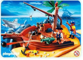 Playmobil - 4136 - Superset Pirate Island
