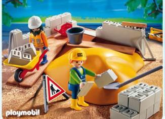Playmobil - 4138 - Construction Compact Set