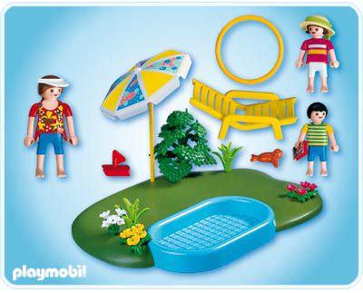 Playmobil 4140 - Wading Pool - Back