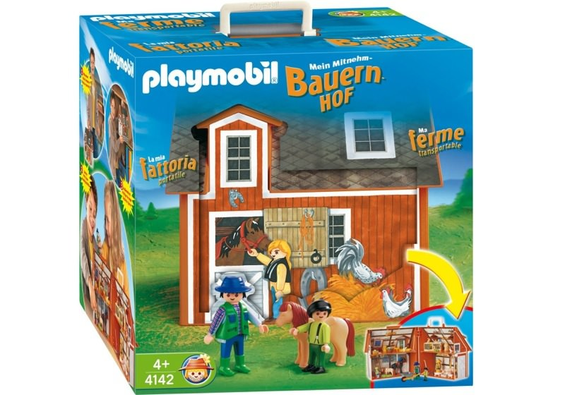 Playmobil 4142 - My Take Along Farm - Box