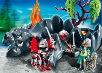Playmobil - 4147 - Dragon Rock Compact Set