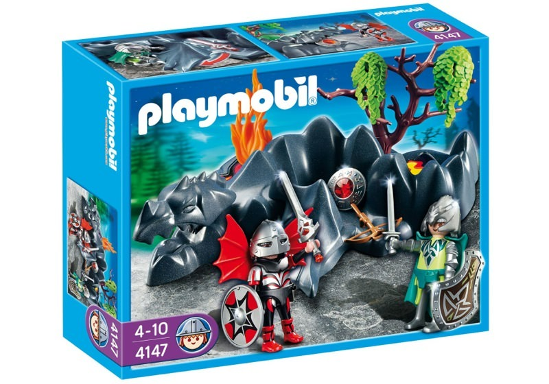 Playmobil 4147 - Dragon Rock Compact Set - Box
