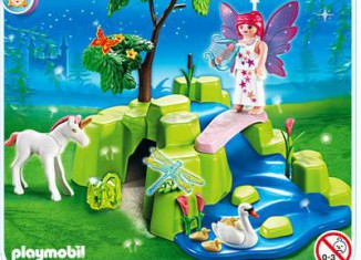 Playmobil - 4148 - Fairy Garden Compact Set