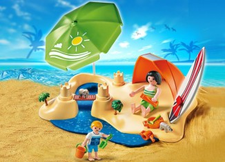 Playmobil - 4149 - Beach Holiday Compact Set