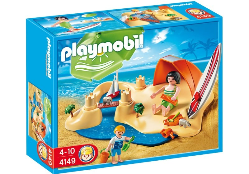 Playmobil 4149 - Beach Holiday Compact Set - Box