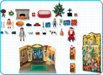 Playmobil Set: 4150 - Advent Calendar Christmas Eve - Klickypedia