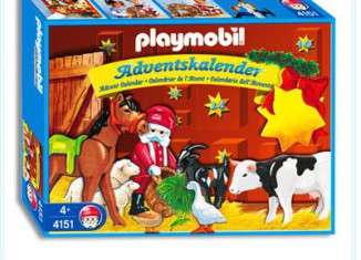 Playmobil - 4151 - Animals' Christmas