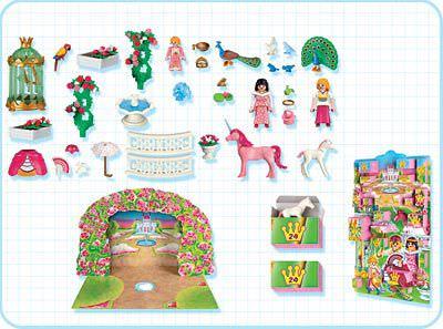 Playmobil 4154 - Advent Calendar Unicorn Paradise - Back
