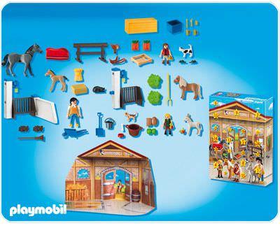 "Playmobil 4159 - Adventskalender ""Pferdestall"" - Zurück"