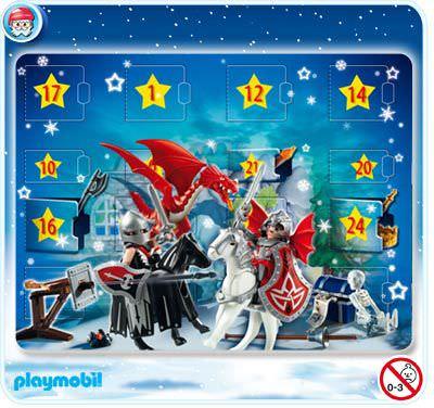 playmobil set 4160 advent calendar 39 dragon 39 s land. Black Bedroom Furniture Sets. Home Design Ideas