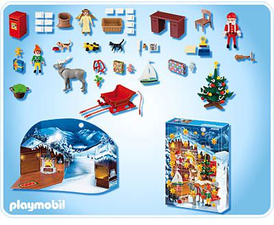 Playmobil 4161 - Advent Calendar 'Christmas Post Office' - Back