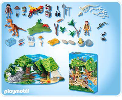 Playmobil 4162 - Advent Calendar Dinosaur Expedition - Back