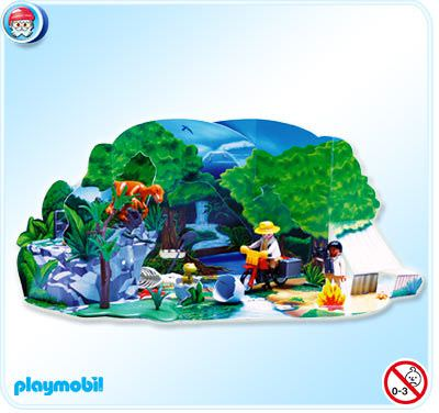 Playmobil set 4162 advent calendar dinosaur expedition - Dinosaur playmobile ...