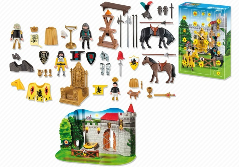 Playmobil 4163 - Emperor's Knights Tournament - Back