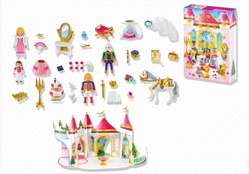 Playmobil 4165 - Advent Calendar Princess Wedding - Back