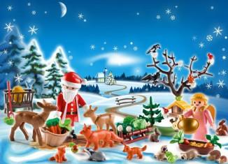 Playmobil - 4166 - Advent Calendar Forest Winter Wonderland
