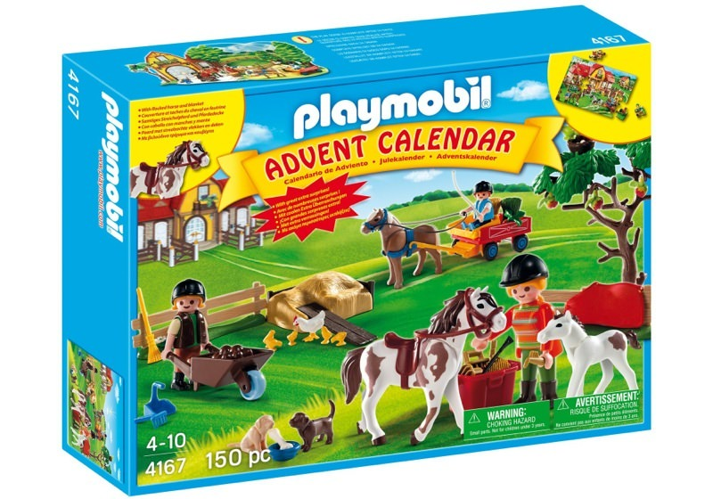 Playmobil 4167 - Advent Calendar Pony Farm with great additional surprises - Box